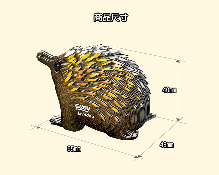 (複製)EUGY|3D紙板拼圖-無尾熊