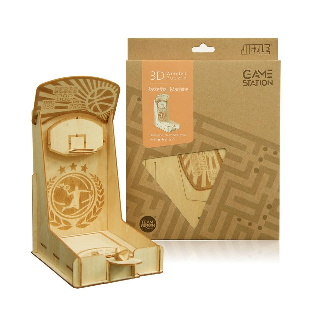 JIGZLE|3D木拼圖 Game-Station-籃球機