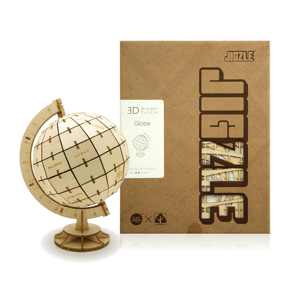 JIGZLE|3D木拼圖 地球儀
