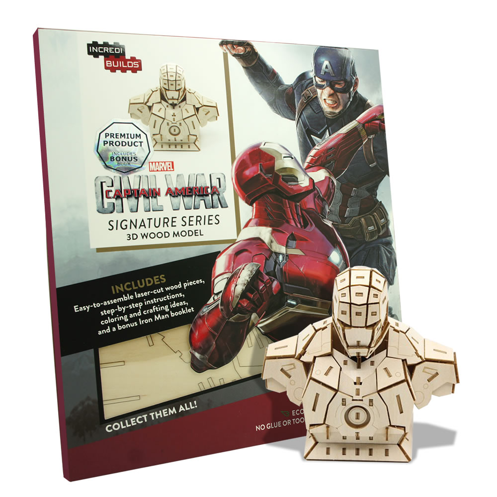 JIGZLE|3D木拼圖 鋼鐵人