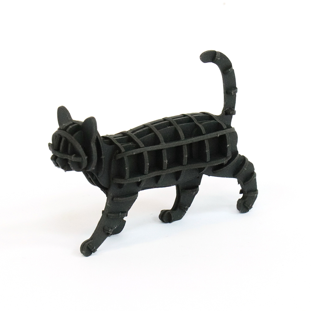 JIGZLE|3D紙拼圖 步行的貓