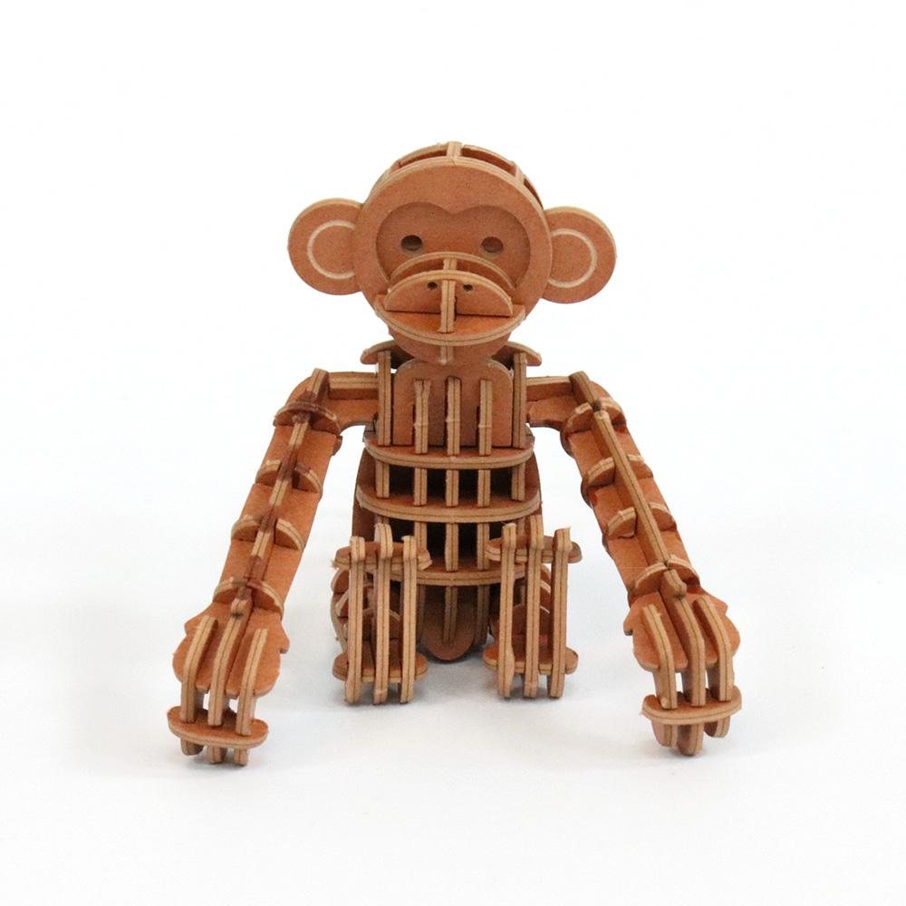 JIGZLE 3D紙拼圖 猴子