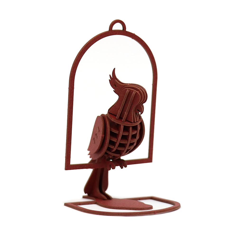 JIGZLE|3D紙拼圖 鸚鵡