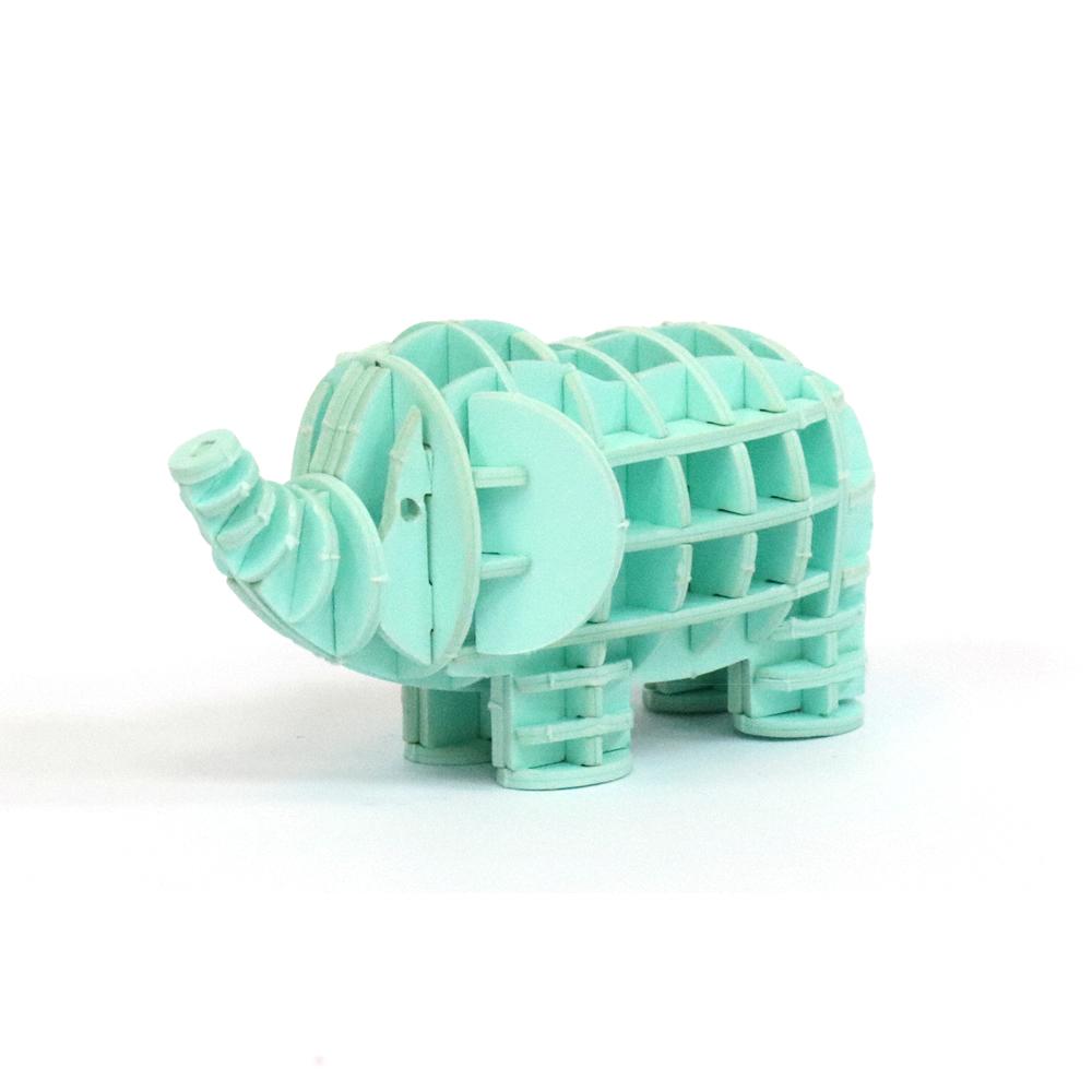 JIGZLE|3D紙拼圖 大象