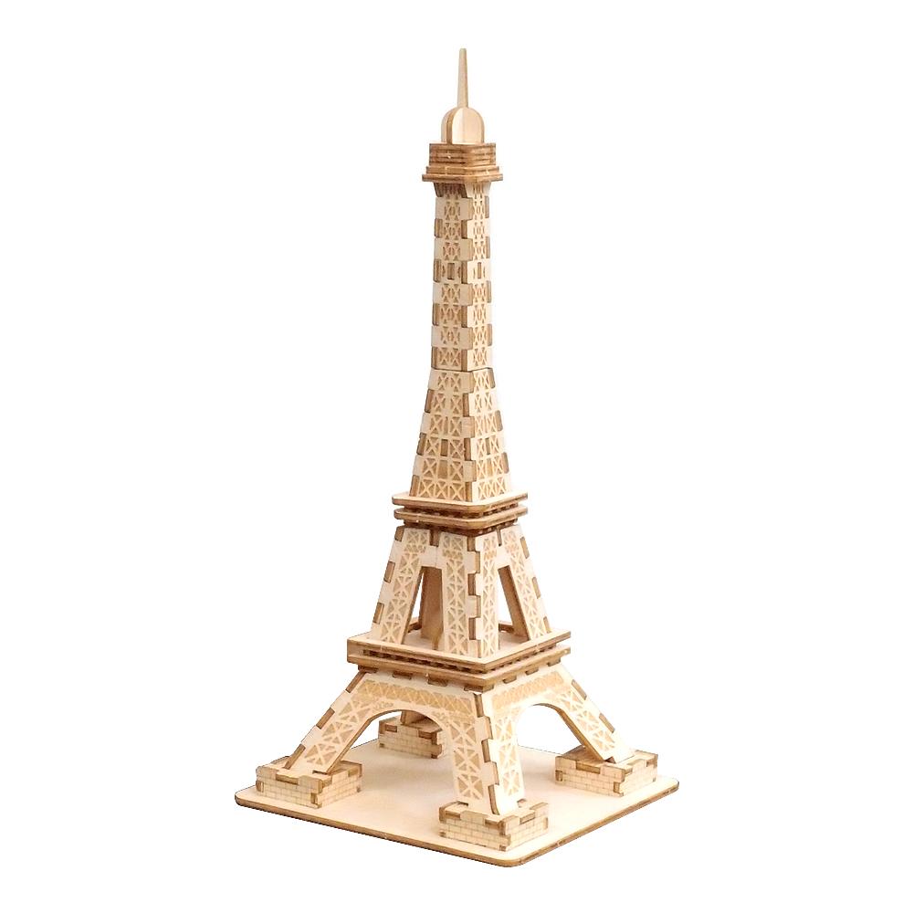JIGZLE 3D木拼圖 艾菲爾鐵塔-(小)