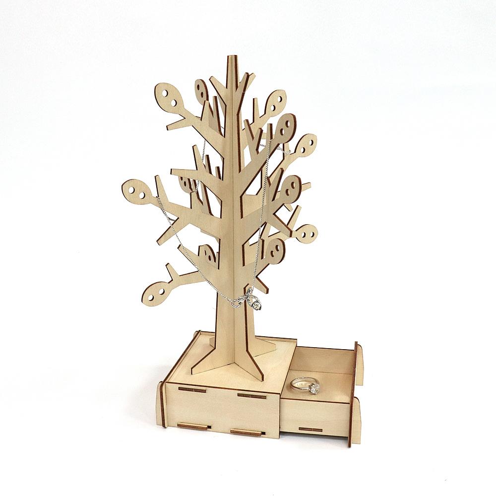 JIGZLE|3D木拼圖 生活收納-許願樹