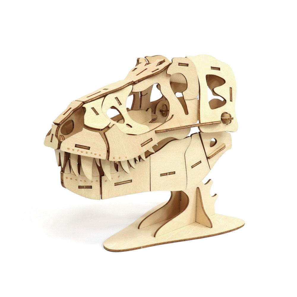 JIGZLE|3D木拼圖 生活收納-霸王龍