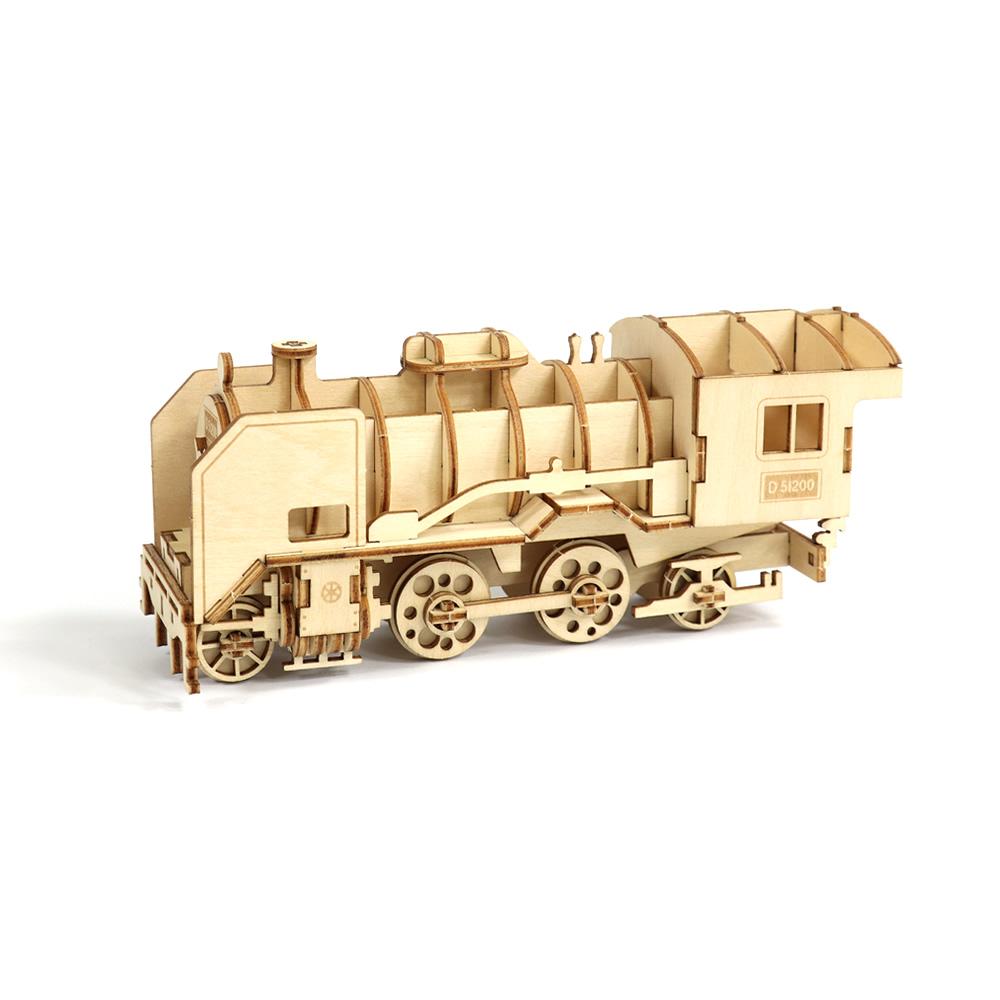 JIGZLE|3D木拼圖 D51200火車