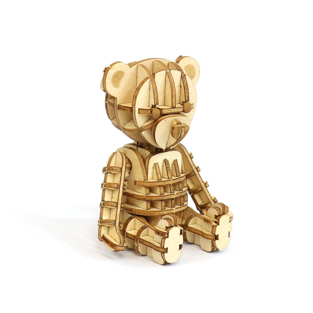 JIGZLE|3D木拼圖 泰迪熊