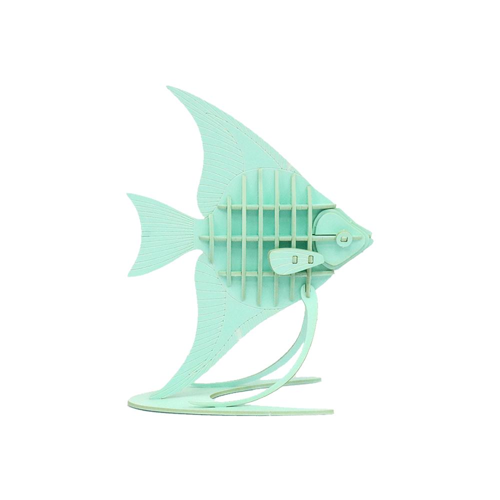 JIGZLE|3D紙拼圖 天使魚