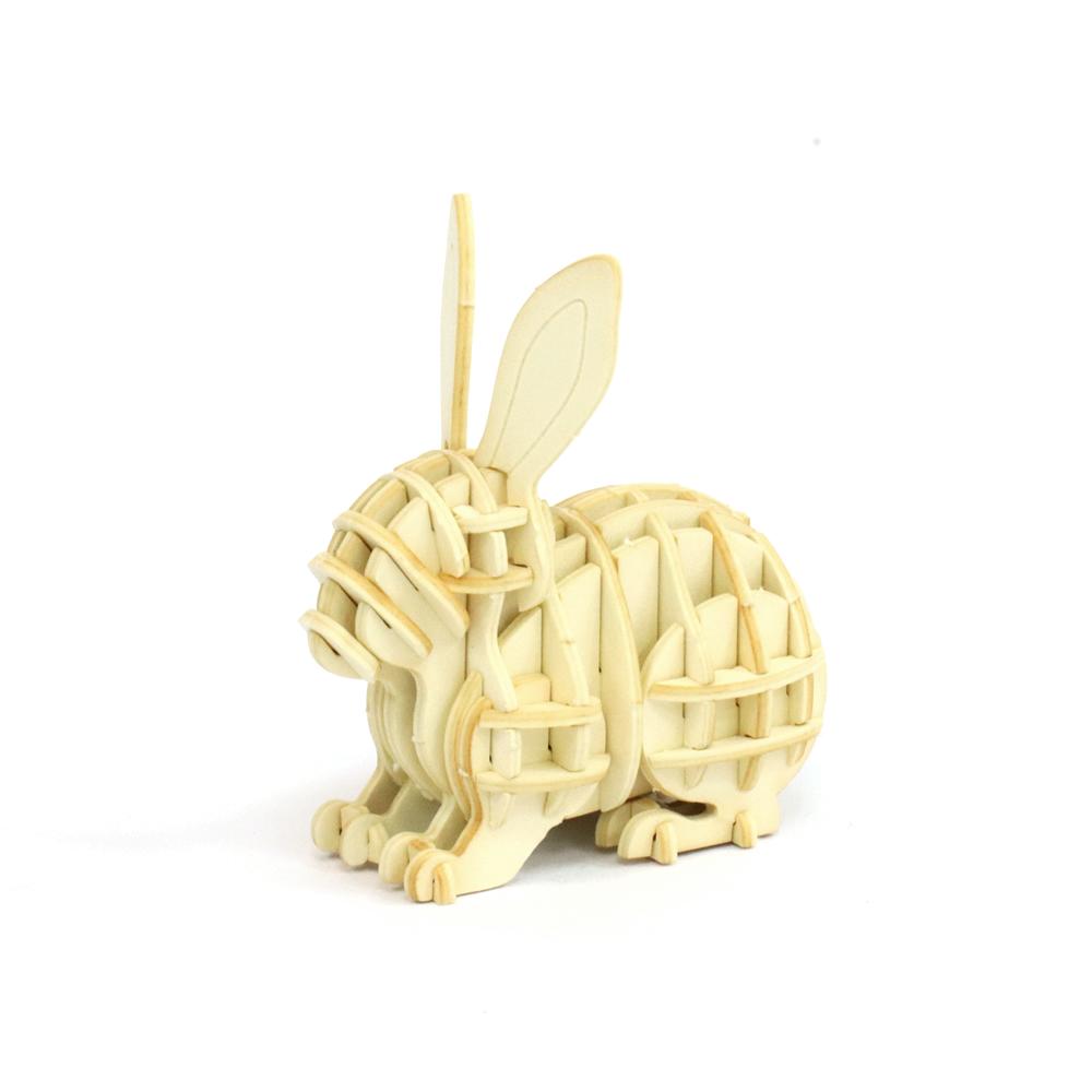 JIGZLE|3D紙拼圖 兔子