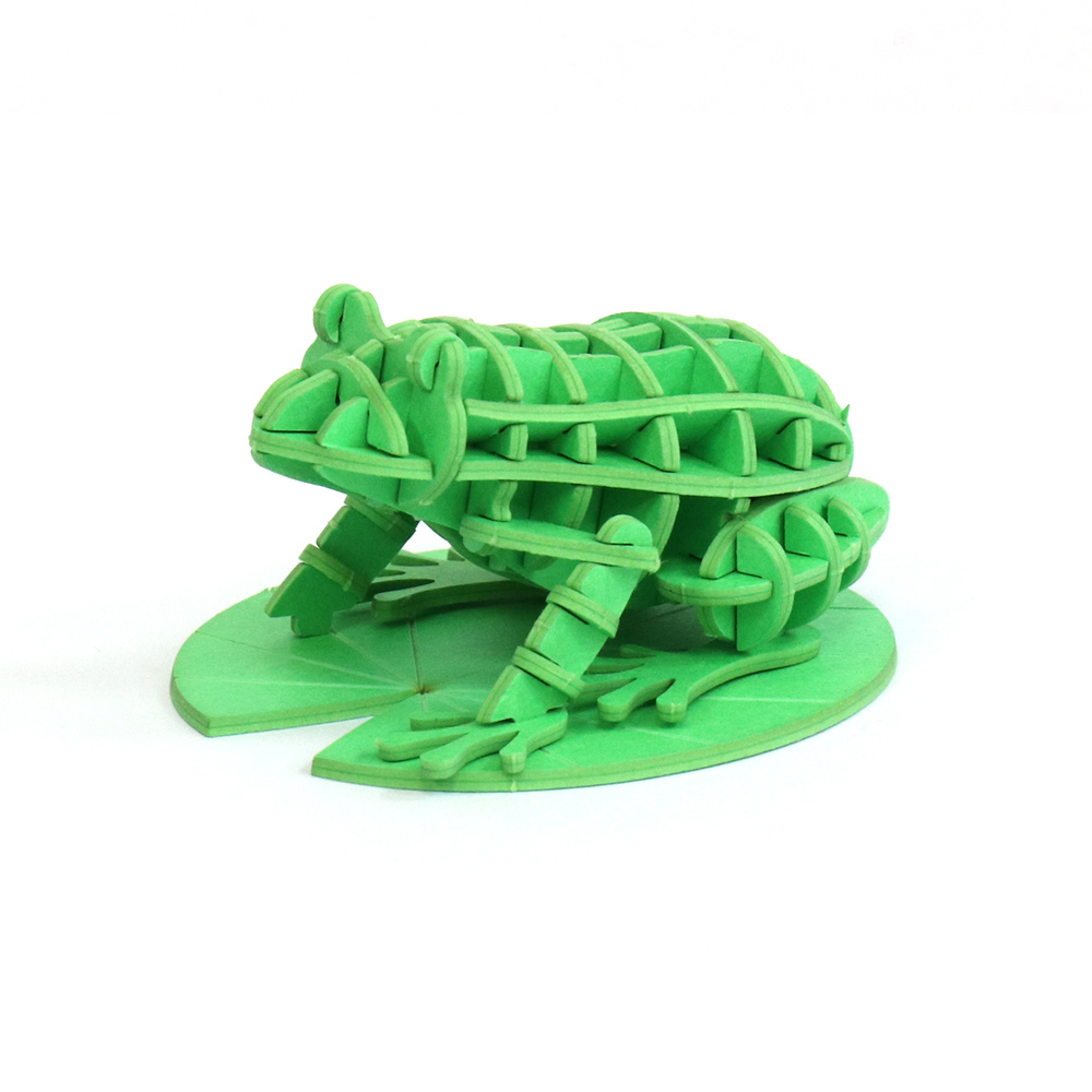 JIGZLE|3D紙拼圖 青蛙