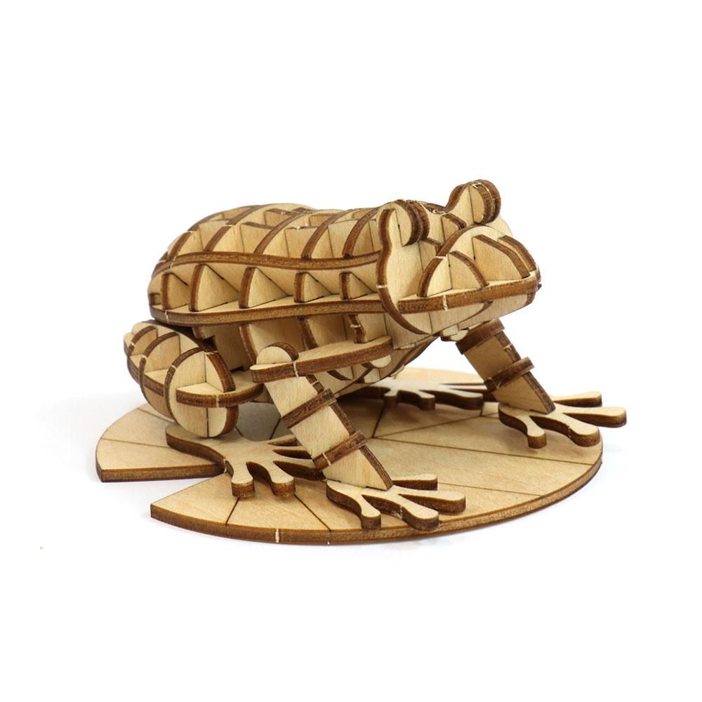 JIGZLE|3D木拼圖 青蛙