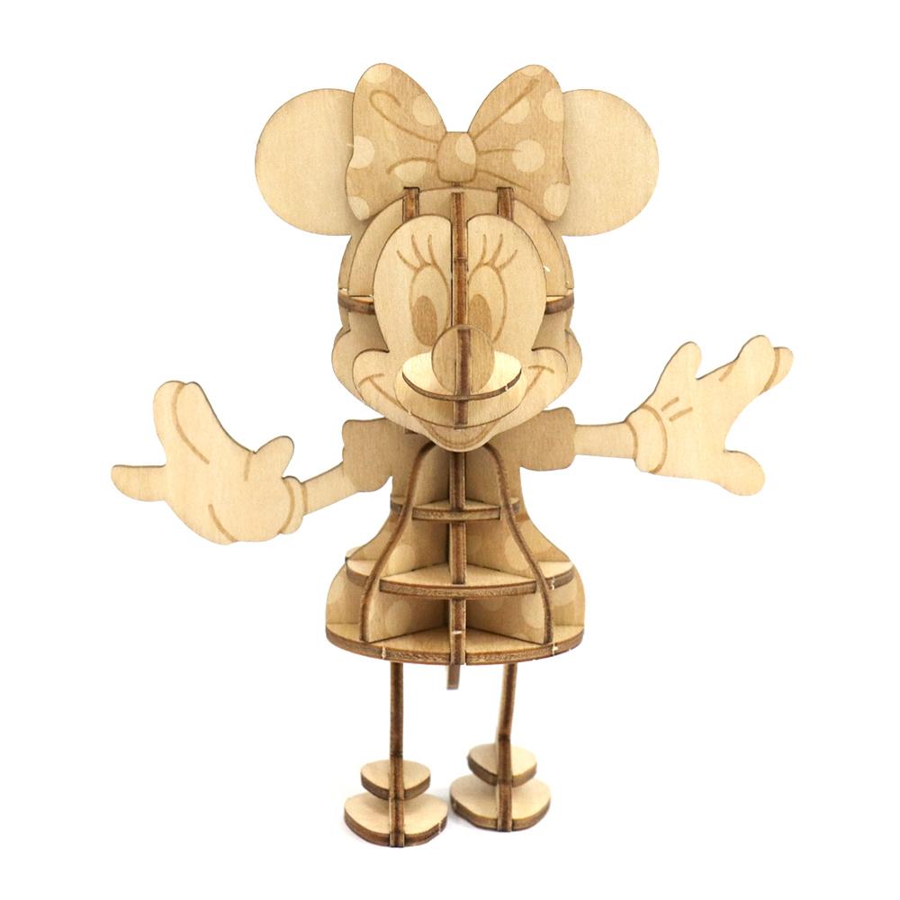 JIGZLE 3D木拼圖 米妮老鼠