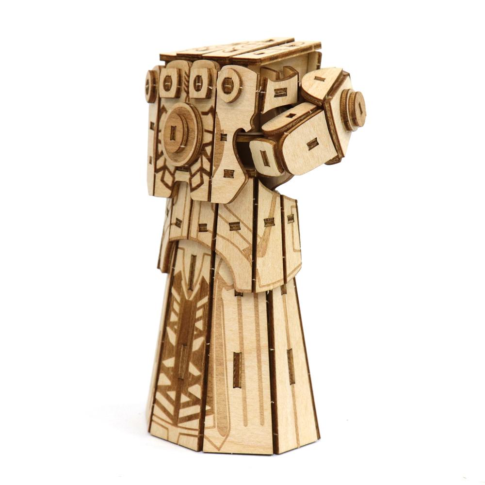 JIGZLE 3D木拼圖 無限手套