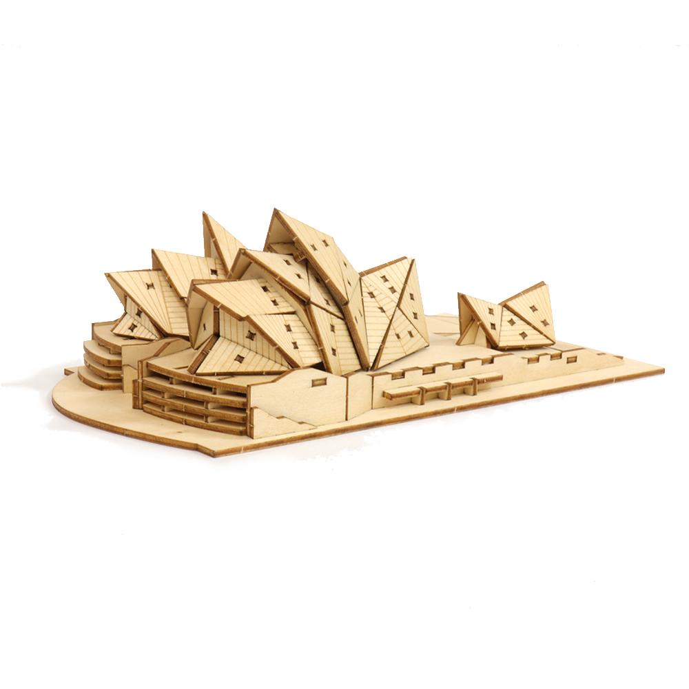 JIGZLE|3D木拼圖 雪梨歌劇院