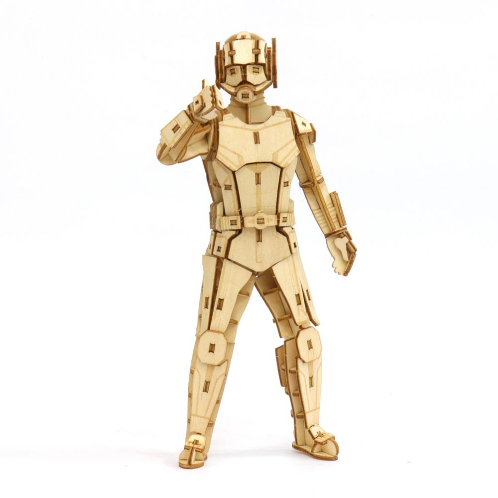 JIGZLE|3D木拼圖 蟻人