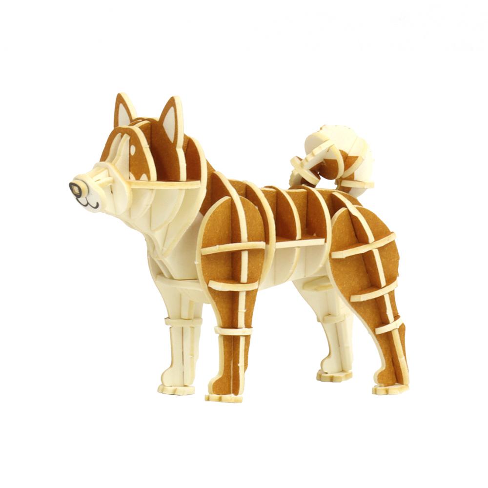 JIGZLE|3D紙拼圖 柴犬
