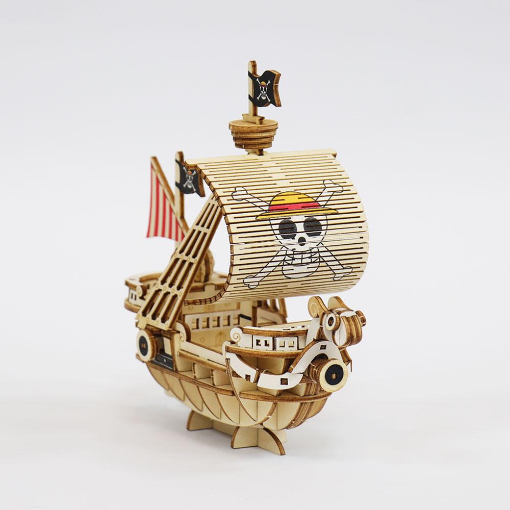 JIGZLE|3D-木拼圖- 海賊王 ONE PIECE-   黃金梅利號  Going Merry