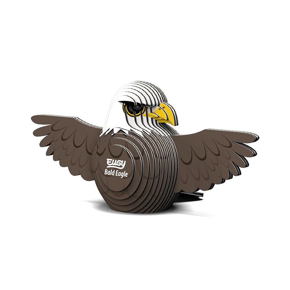 EUGY|3D紙板拼圖-老鷹
