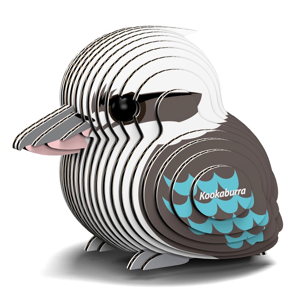 EUGY 3D紙板拼圖-翠鳥