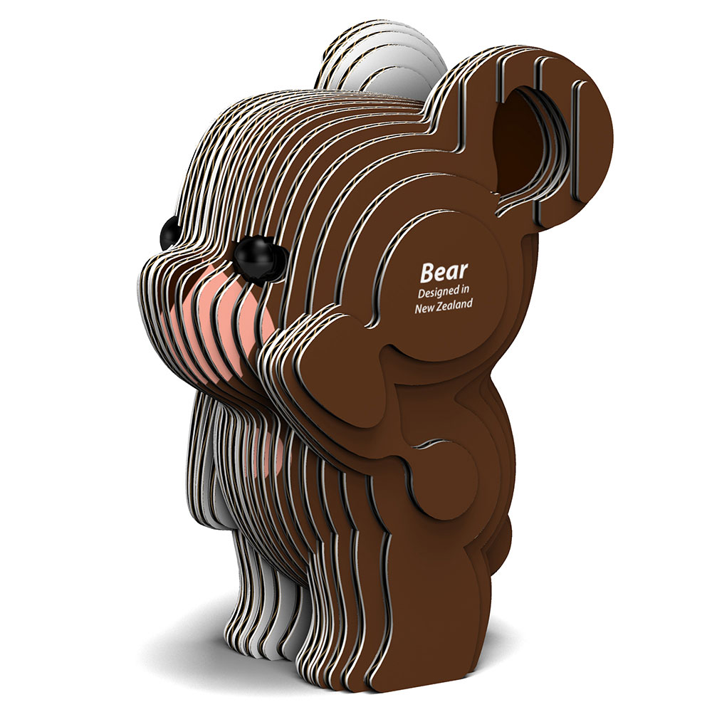 EUGY 3D紙板拼圖-熊