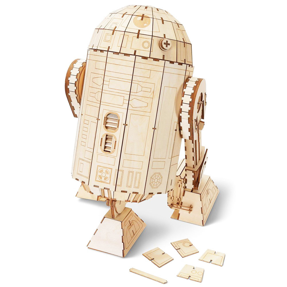 JIGZLE 3D木拼圖  星際大戰系列  R2D2 珍藏版