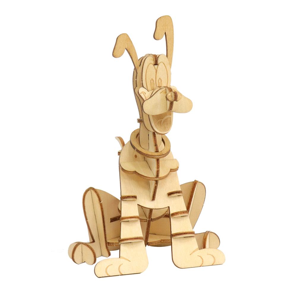 JIGZLE|3D-木拼圖- 迪斯尼系列-布魯托