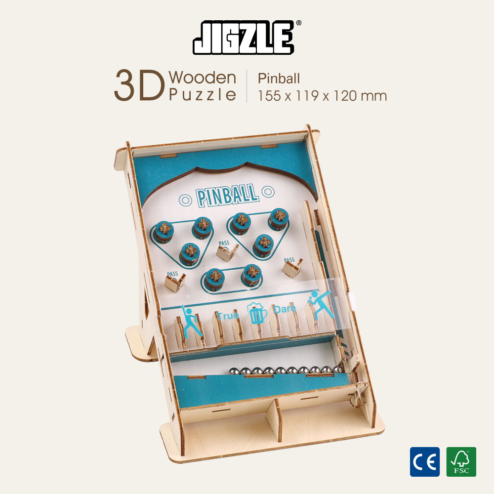 JIGZLE|3D木拼圖 Game-Station-彈珠機