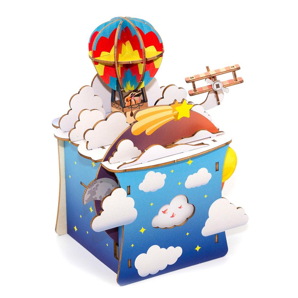 JIGZLE|3D木拼圖 彩色音樂盒-探險系列-夢之歷險