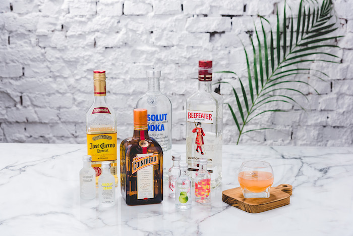 JUS PARFAIT 無酒精雞尾酒式飲品-HEPBURN 310ml(玫瑰金色)