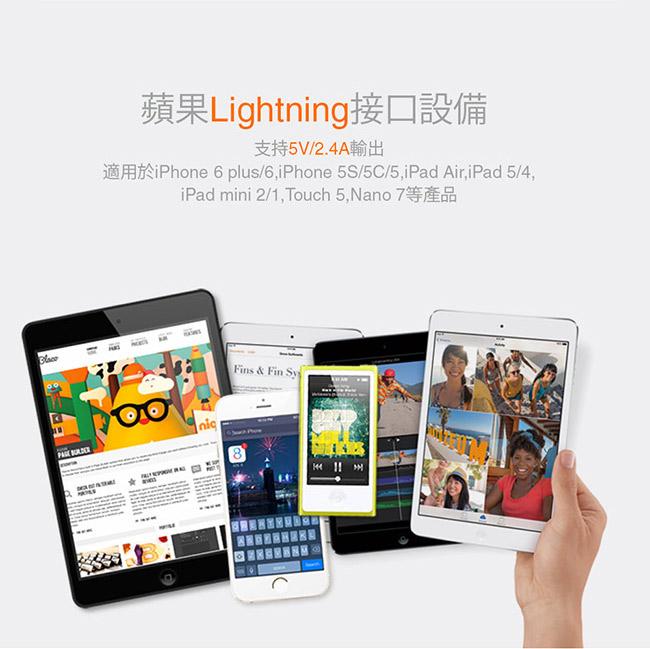 ZMI 紫米  AL812 Lightning 數據線 白色 (100cm)