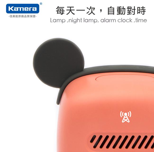 KAMERA BD-AC-02 萌寵 LED小夜燈/鬧鐘-TV