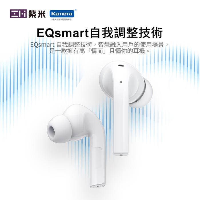 ZMI紫米 PurPods Pro TW-100 真無線藍牙降噪耳機-白色