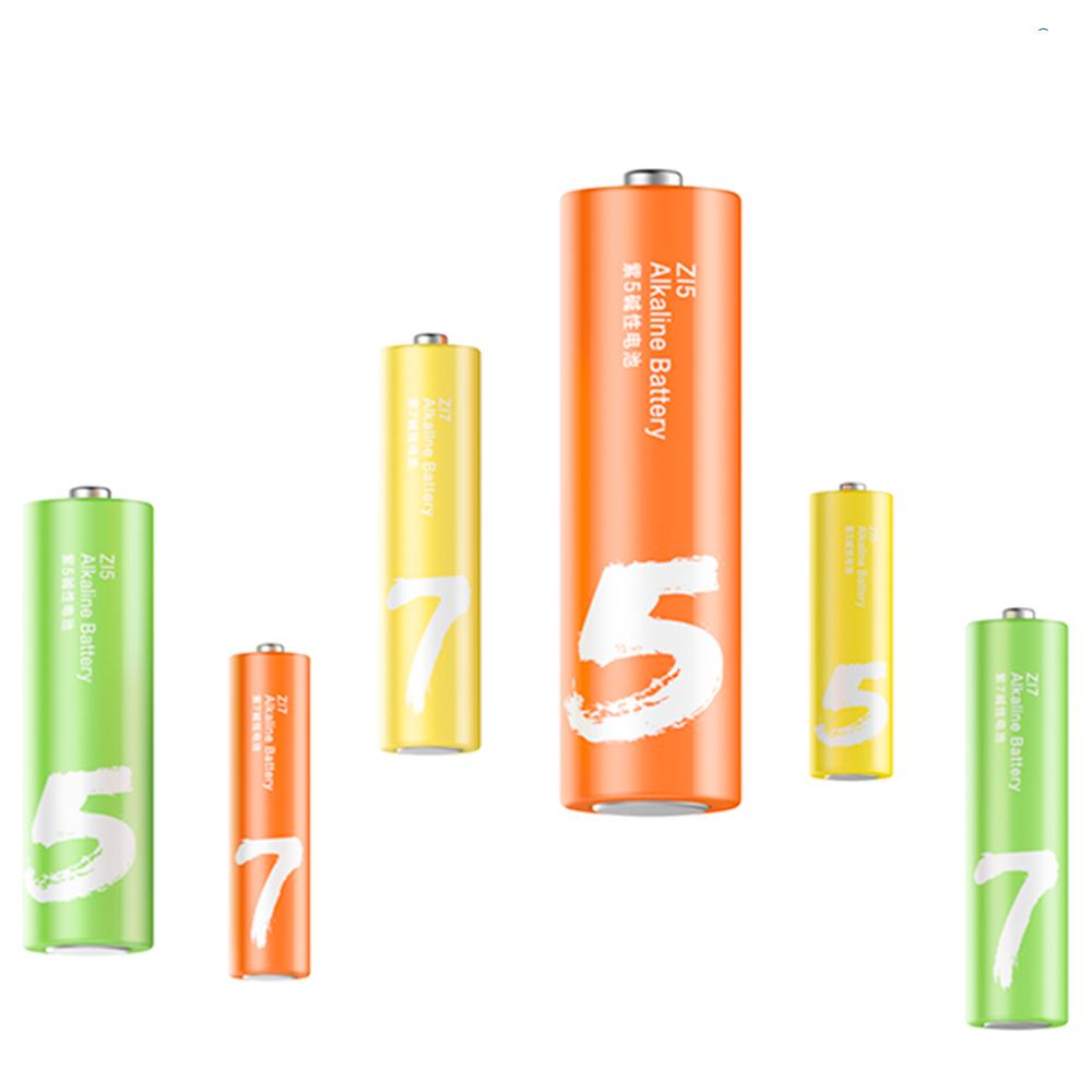 ZMI紫米|3號+4號鹼性電池 LR24 (24入)
