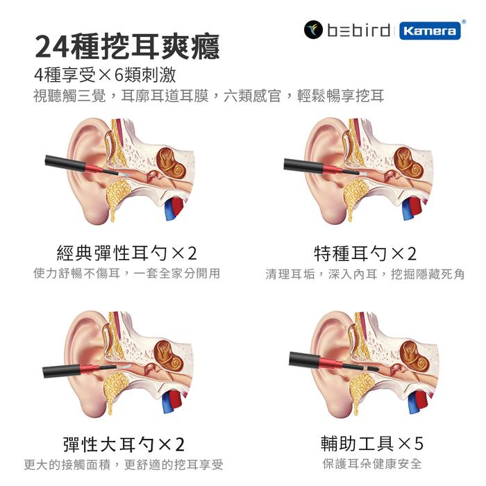 ZMI紫米|小米有品 Bebird 蜂鳥 B2 Pro 智能可視挖耳棒