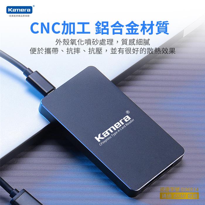 Kamera K1A CFexpress Type-A 高速讀卡機