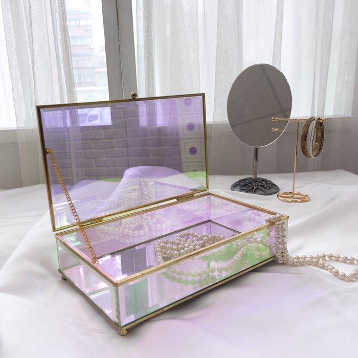 目喜生活 | 歐若拉極光玻璃盒長方款