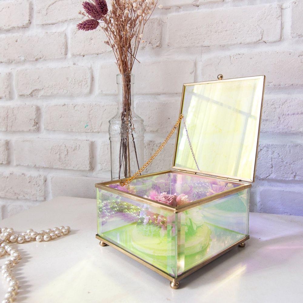 目喜生活 | 歐若拉極光玻璃盒立方款