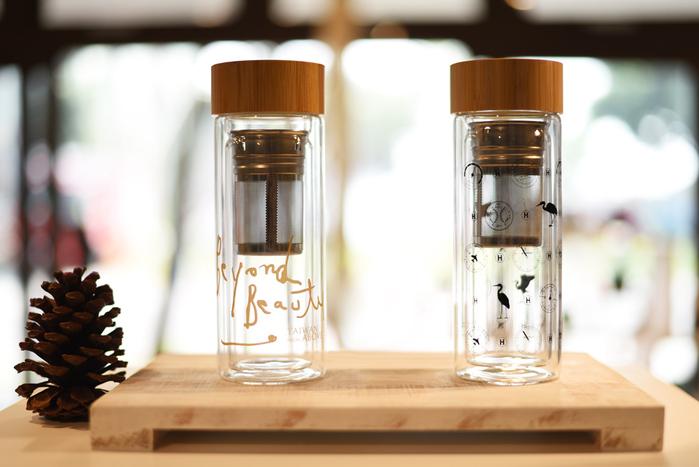 拾藝術|齊柏林 雙層玻璃水瓶 儀表板