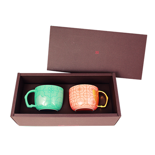 拾藝術|富足對杯禮盒