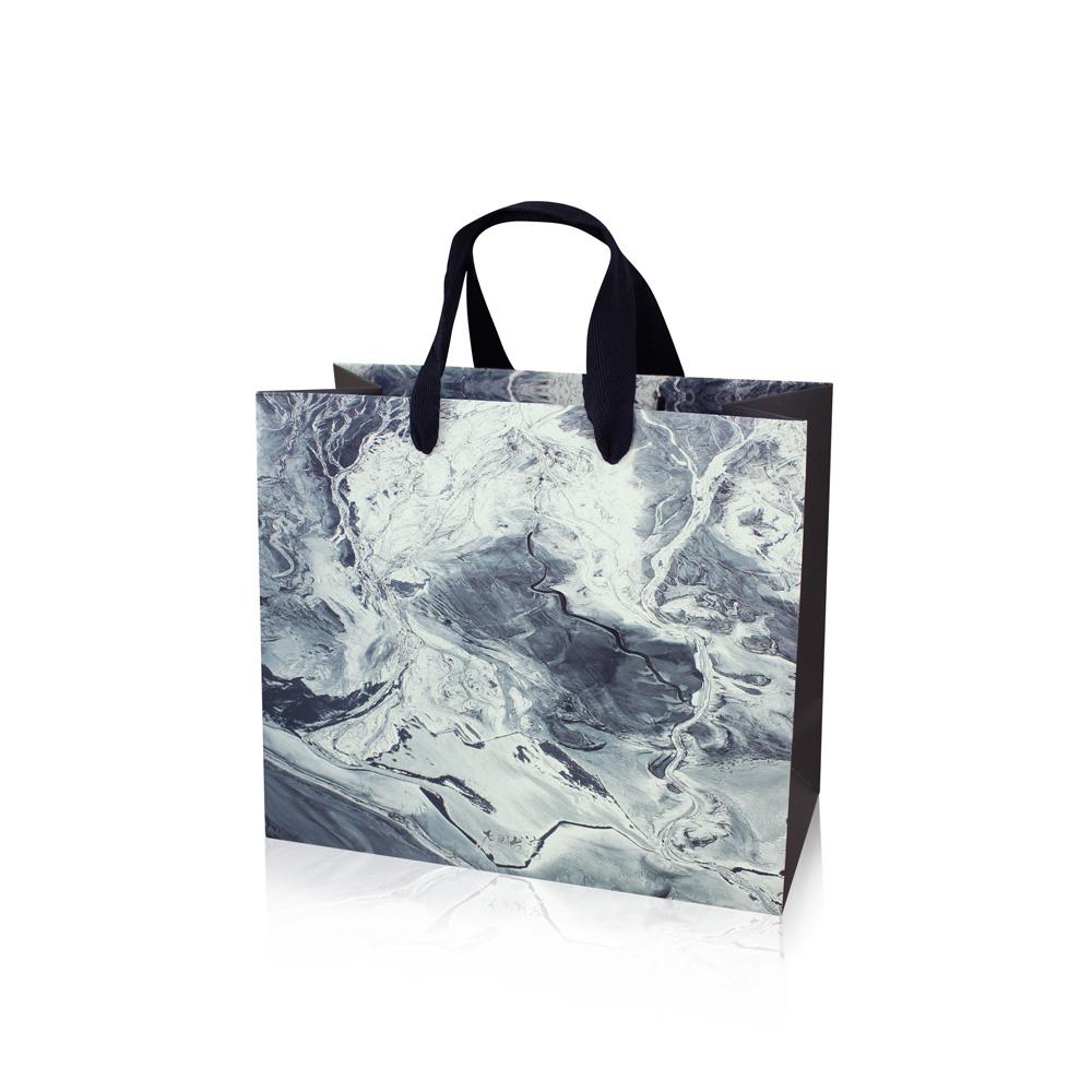 拾藝術|齊柏林 精裝紙提袋 濕地(小)