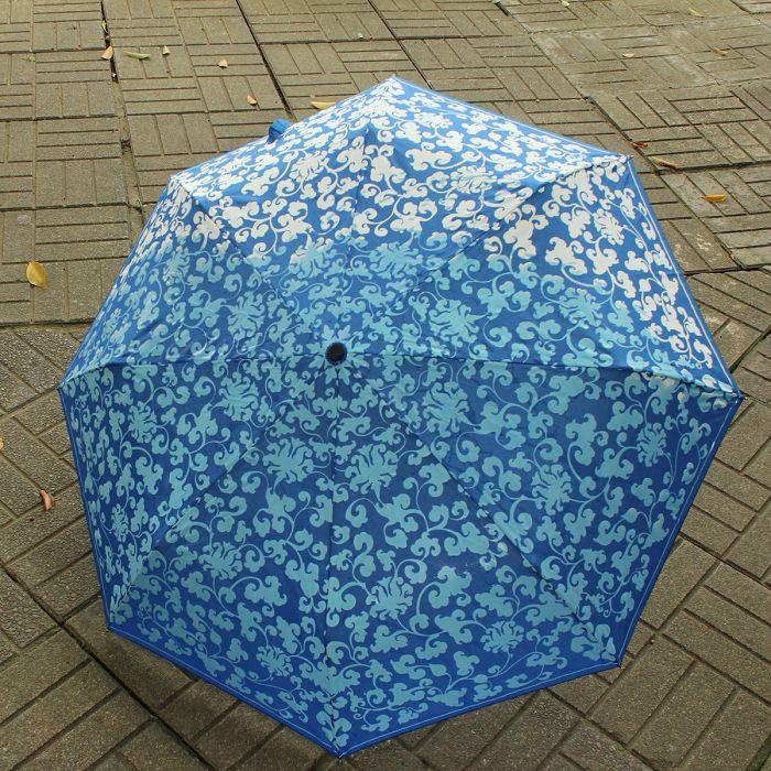 (複製)故宮精品|雨過天青晴雨傘