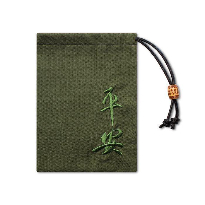 故宮精品 小束袋平安綠