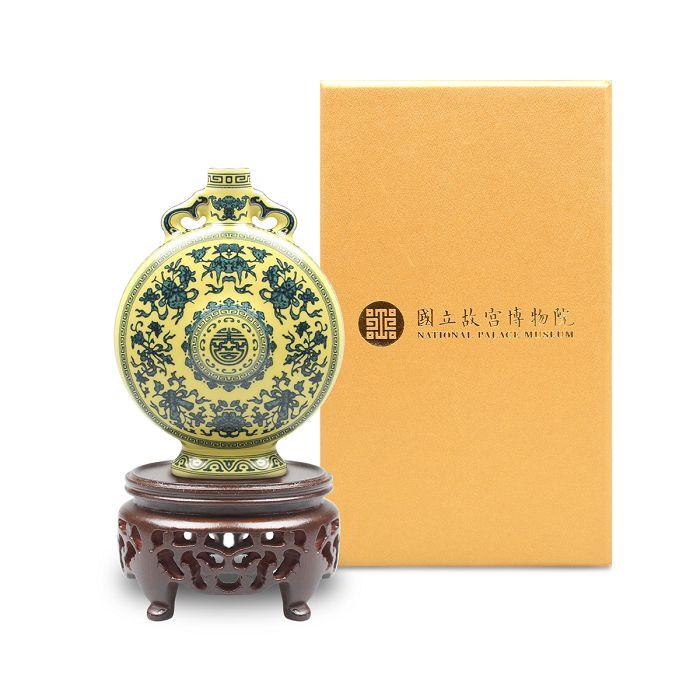 (複製)故宮精品|迷你瓷器 ─ 洋彩金番花膽瓶