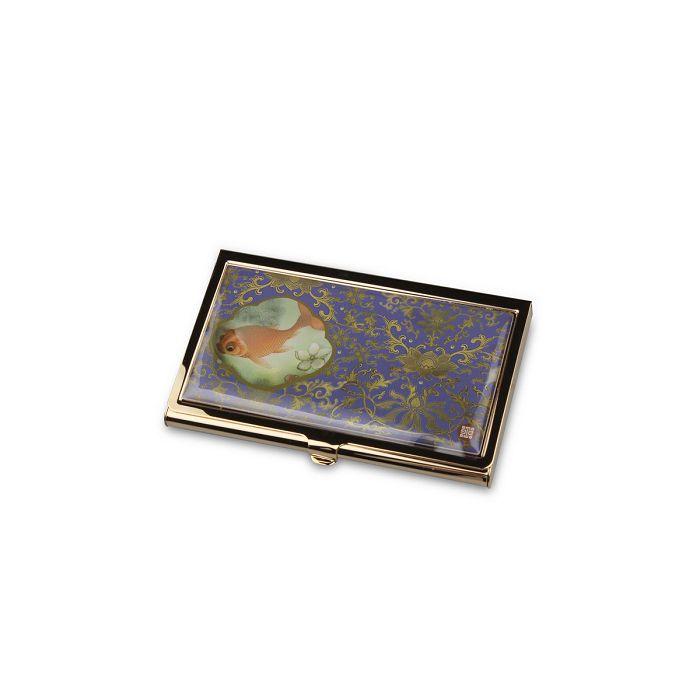 (複製)故宮精品|經典刺繡名片盒山茶花