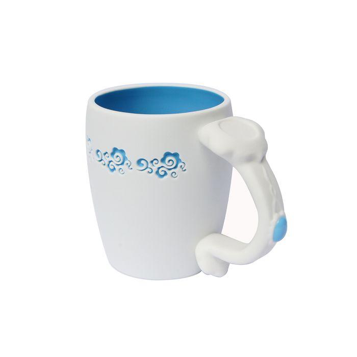 故宮精品 如意馬克杯 天青藍