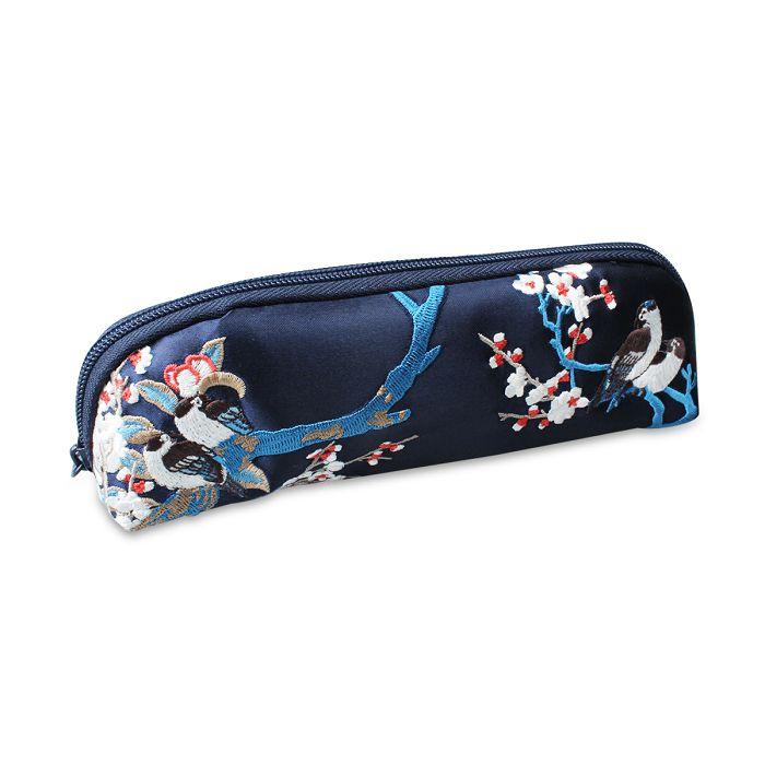 (複製)故宮精品|郎世寧刺繡筆袋櫻桃