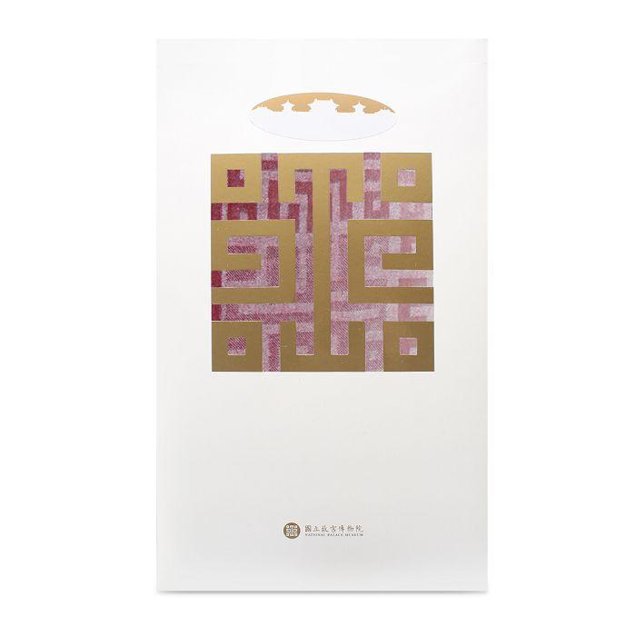 (複製)故宮精品|故宮經典LOGO羊毛圍巾(米黃)