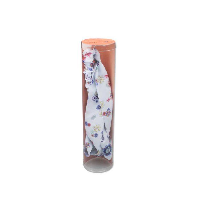 故宮精品|國寶印花髮帶朵花圖
